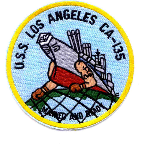 USS Los Angles CA-135 ship Patch