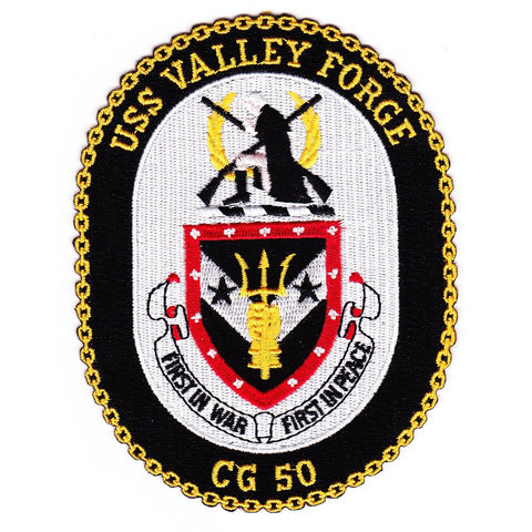 CG-50 USS Valley Forge ship Patch