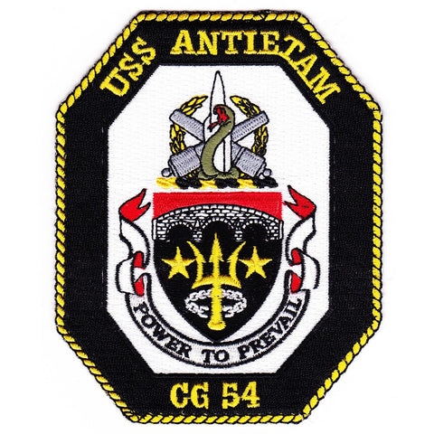 CG-54 USS Antietam ship Patch