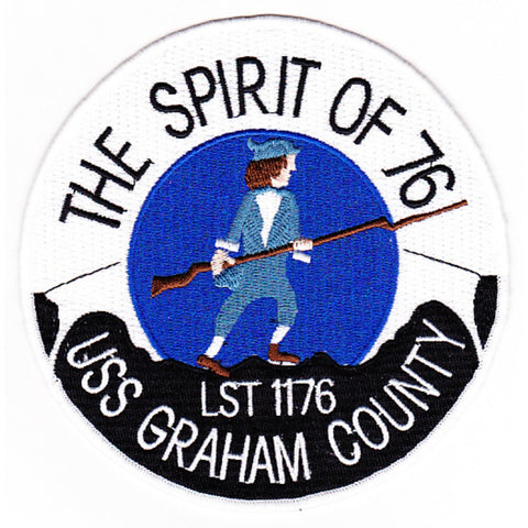 LST-1176 USS Graham County Patch
