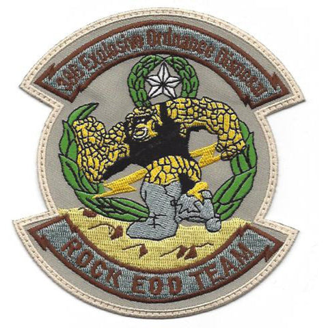 EOD 366th Explosive Ordnance Disposal Patch - Rock EOD Team