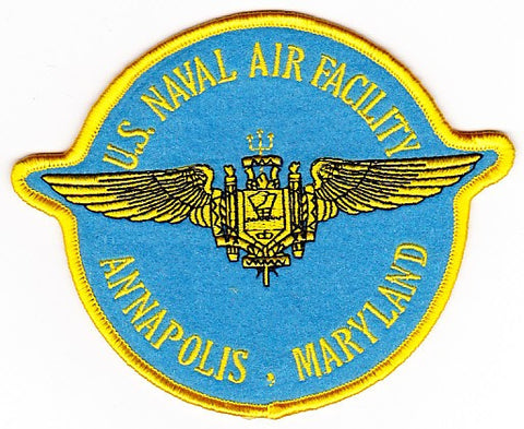 NAF Annapolis, Maryland Naval Air Facility Patch