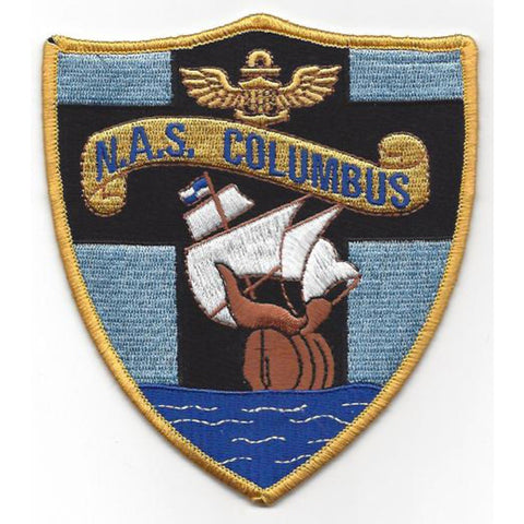 NAS Columbus Ohio Naval Air Station Patch