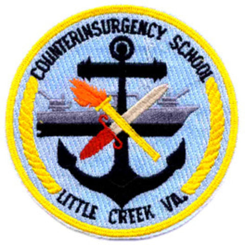 Counterinsurgency School Little Creek Virginia Patch