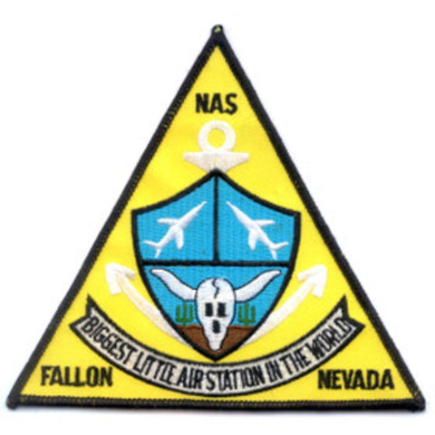 NAS Fallon Nevada Naval Air Station Patch