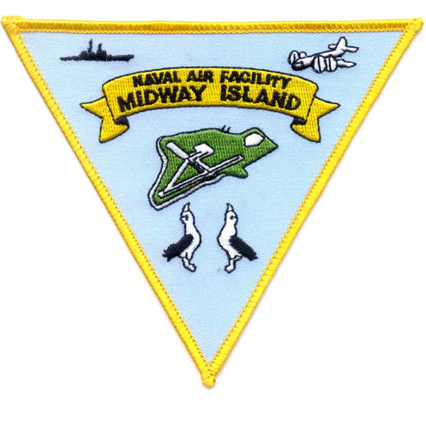 NAF Midway Island Naval Air Facility Patch