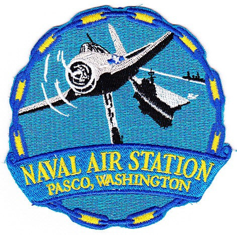 NAS Pasco, Washington Naval Air Station Patch