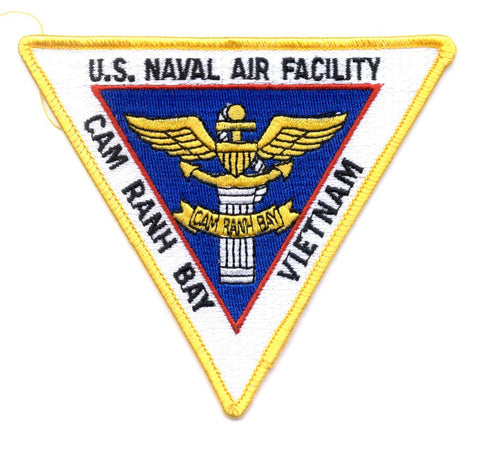 NAF Cam Ranh Bay Vietnam Naval Air Facility Patch