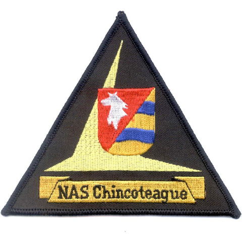 NAS Chincoteague Virginia Naval Air Station Patch