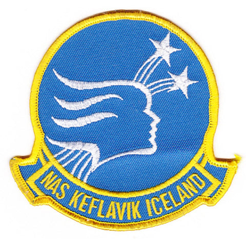 NAS Keflavik Iceland Naval Air Station Patch - Version A