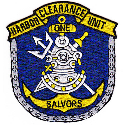 HCU-1 Naval Harbor Clearance Unit One Patch