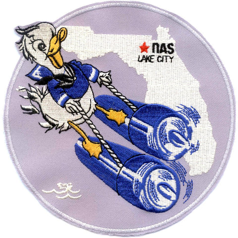 NAS Lake City Florida Naval Air Station Patch