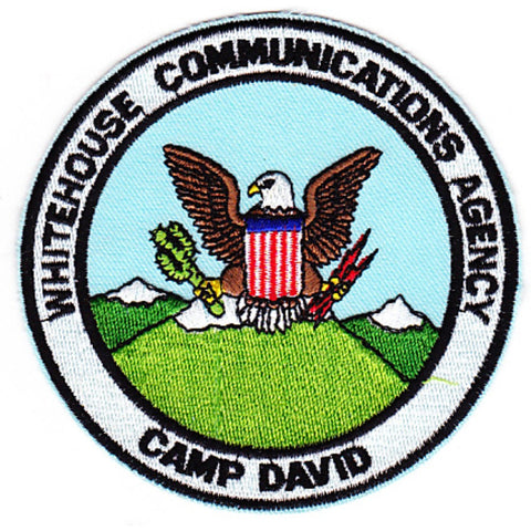 WHCA White House Communications Agency Camp David Patch