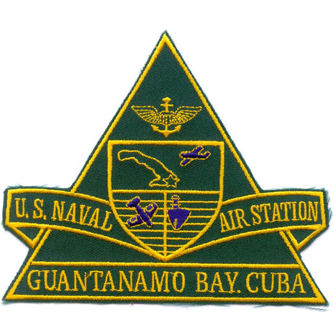 NAS Guantanamo Bay Cuba Naval Air Station Patch