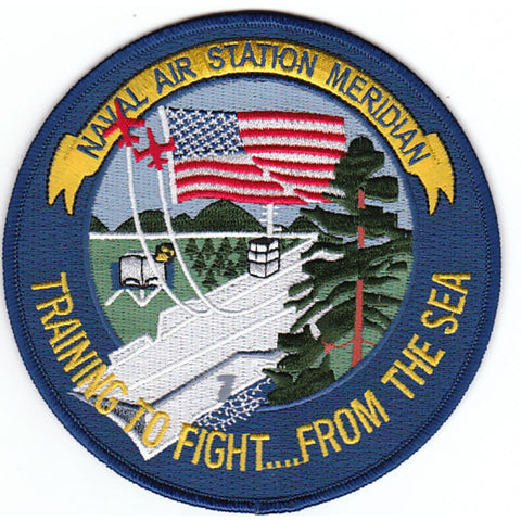 NAS Meridian Naval Air Station Patch Training to Fight From the Sea