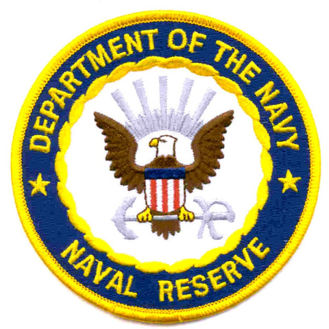 Naval Reserve Patch Department of the Navy