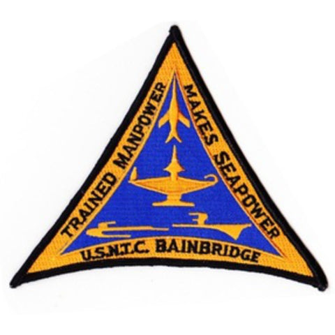 USNTC Bainbridge Port Deposit Maryland Patch - Trained Manpower Makes Seapower