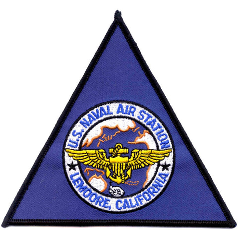 NAS Lemoore California Naval Air Station Patch