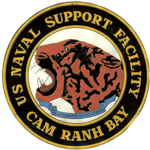 NAF Cam Ranh Bay Naval Support Facility Patch
