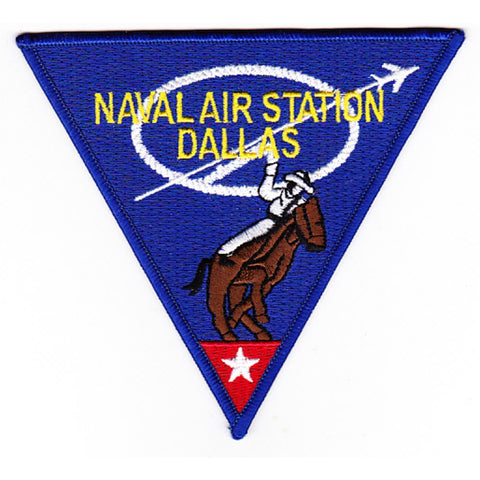 NAS Dallas Texas Naval Air Station Patch