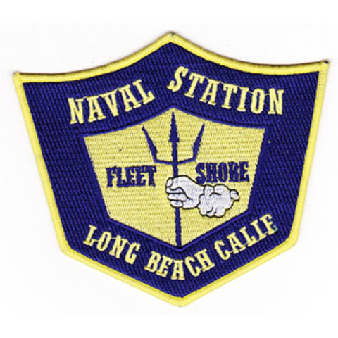 Naval Station Long Beach California Patch FLEET SHORE