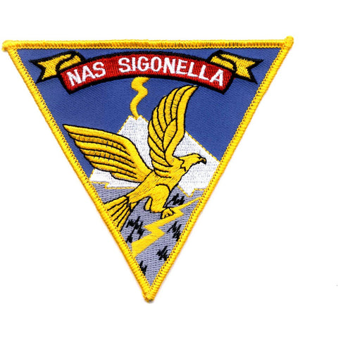 NAS Sigonella Italy Naval Air Station Patch