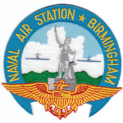NAS Birmingham Alabama Naval Air Station Patch