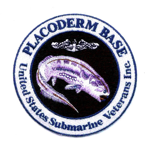US Submarine Veterans, Inc. USS Placoderm Base Des Moines Iowa Patch