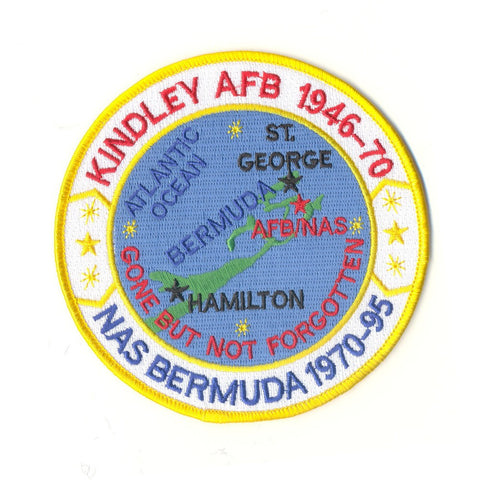 NAS Bermuda Naval Air Station Kindley AFB Patch Gone But Not Forgotten