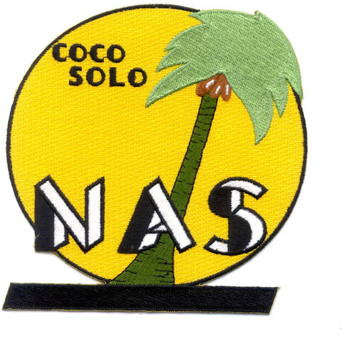 NAS Coco Solo Naval Air Station Patch