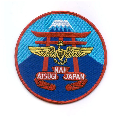 NAF Atsugi Japan Naval Air Facility Patch