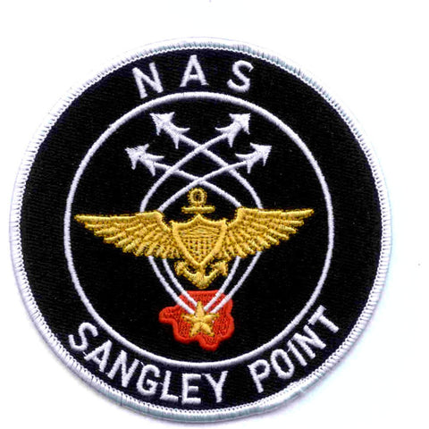 NAS Sangley Point Naval Air Station Patch Republic Of The Philippines