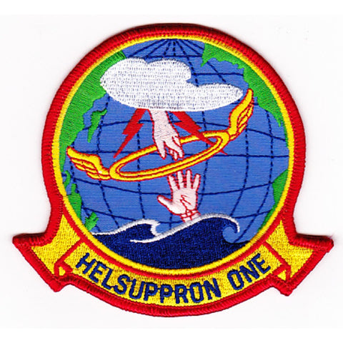 HC-1 Helicopter Combat Support Squadron Patch HELSUPPRON ONE