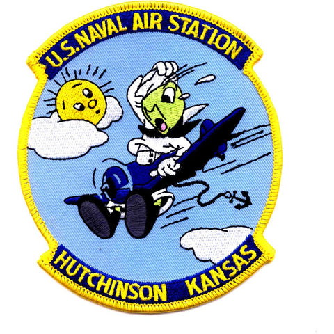 NAS Hutchinson Kansas Naval Air Station Patch