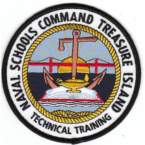 NSC Treasure Island Technical Training Naval Schools Command Patch
