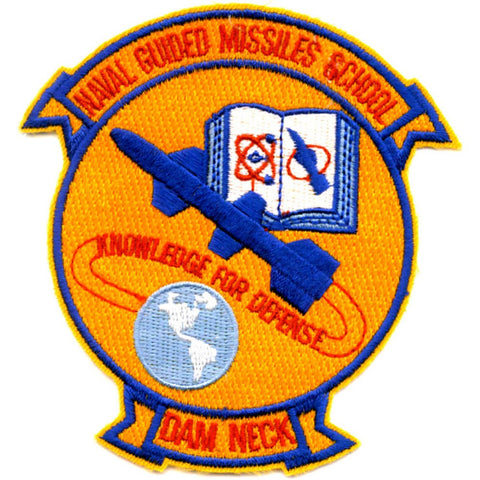 Guided Missiles School Dam Neck Virginia Patch Knowledge for Defense