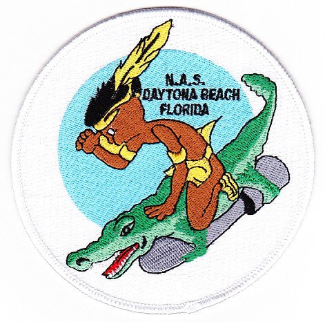 NAS Daytona Beach Florida Naval Air Station Patch