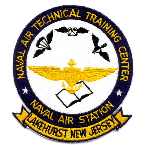 NATTC Lakehurst New Jersey Naval Air Technical Training Center Patch