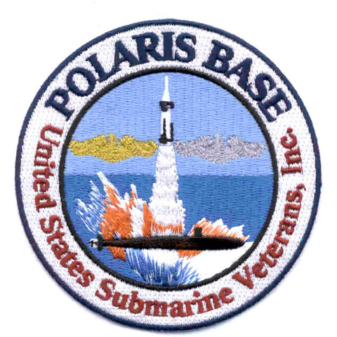 US Submarine Veterans, Inc. Polaris  Base Rapid City, SD Patch