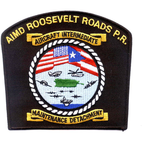 AIMD Aircraft Intermediate Maintenance Detachment Roosevelt Roads P.R. Patch