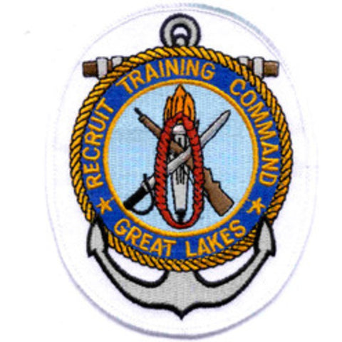 RTC - Recruit Training Command Great Lakes Illinois Patch - Version B