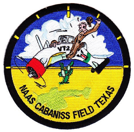 NAAS Cabaniss Field Texas Naval Auxiliary Air Station Patch