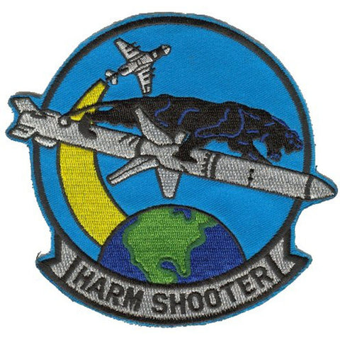 AGM-88 HARM SHOOTER Missile Patch