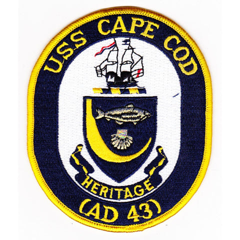 AD-43 USS Cape Cod Patch