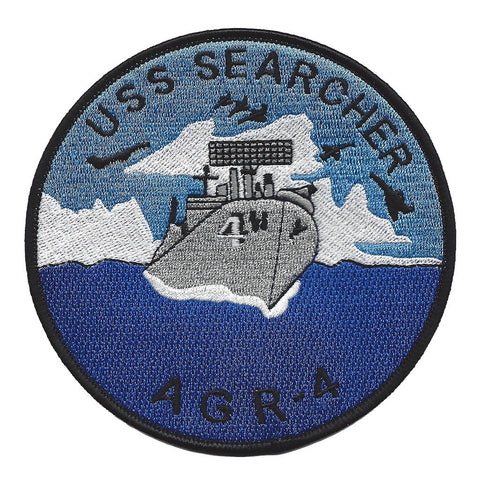 AGR-4 USS Searcher Radar Picket Ship Patch