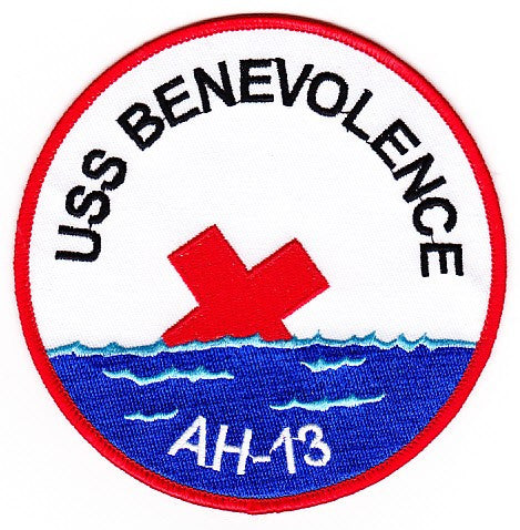 AH-13 USS Benevolence Hospital Ship Patch