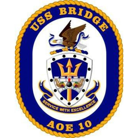 AOE-10 USS Bridge Patch