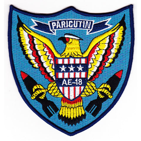 AE-18 USS Paricutin Patch - A Version