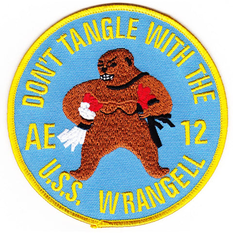 AE-12 USS Wrangell Patch - A Version