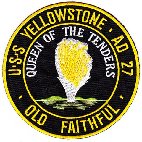 AD-27 USS Yellowstone Patch